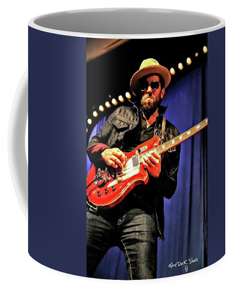 Matthew Wilson Coffee Mug featuring the photograph Red, White, And Blues Man by Keri Butcher