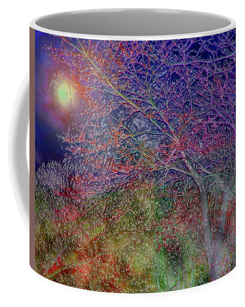 Redbud Coffee Mug featuring the photograph Redbud's by Terry Anderson