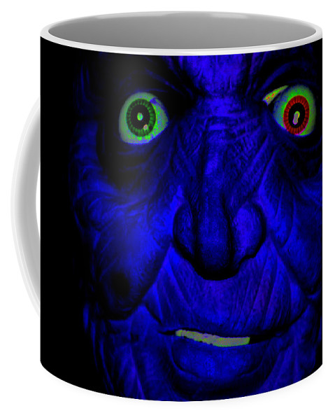 Digital Coffee Mug featuring the digital art Redolent Scam by Steven Scanlon
