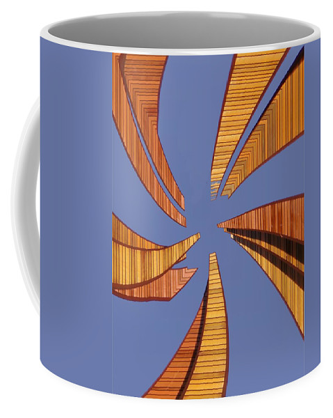Seattle Coffee Mug featuring the digital art Reeds 2 by Tim Allen