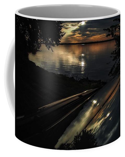 Lake Overholser Coffee Mug featuring the photograph Reflected Beauty by Buck Buchanan
