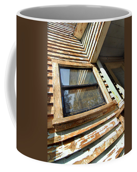 California History Coffee Mug featuring the photograph Reflecting Angles by Norman Andrus