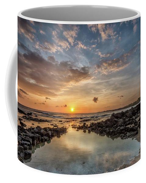Sunset Coffee Mug featuring the photograph Reflection by David Bernal