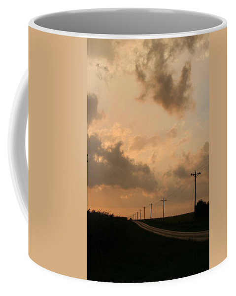 Landscape Coffee Mug featuring the photograph Reflection by Dylan Punke