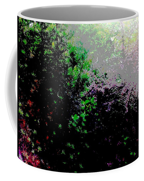 Landscape Coffee Mug featuring the digital art Reflection by Elle Justine