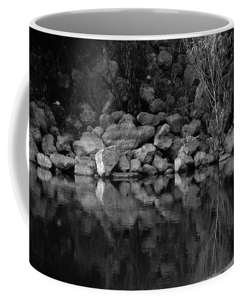 Coffee Mug featuring the photograph Reflection by Josiane Smith