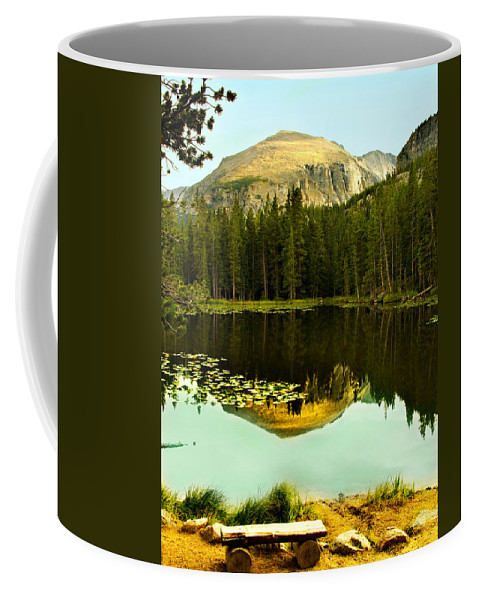 Reflection Coffee Mug featuring the photograph Reflection by Marilyn Hunt