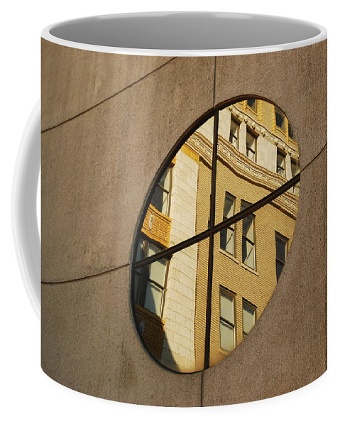 Architectural Coffee Mug featuring the photograph Reflection by Michael Peychich