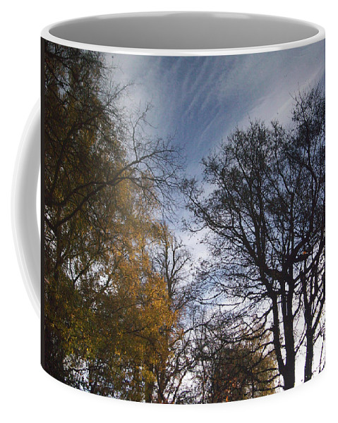 Tree Coffee Mug featuring the photograph Reflection by Munir Alawi