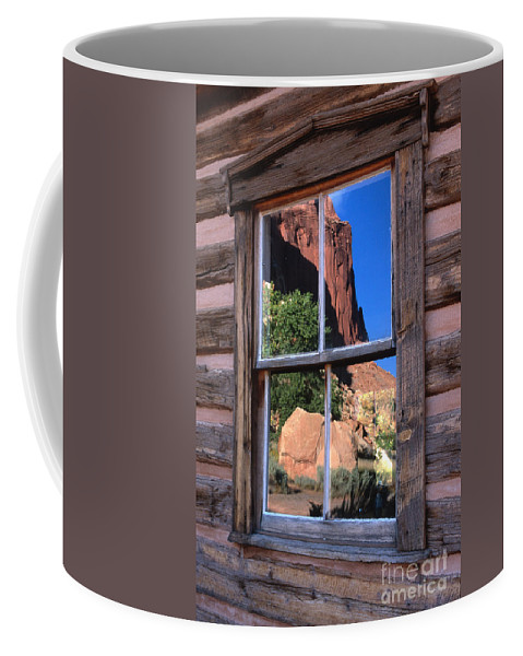 Southwest Coffee Mug featuring the photograph Reflection Of Beauty by Sandra Bronstein