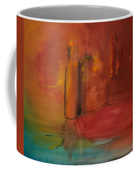 Still Coffee Mug featuring the painting Reflection Of Still Life by Jack Diamond