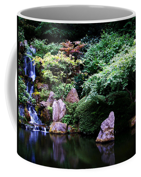 Reflection Coffee Mug featuring the photograph Reflection Pond by Anthony Jones