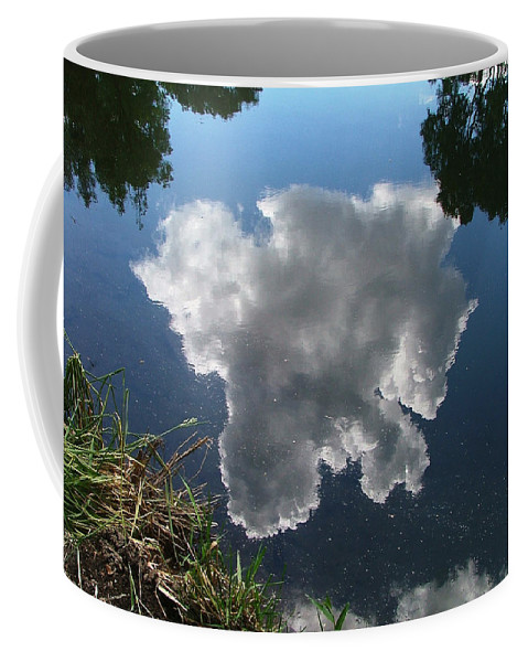 Pecos Coffee Mug featuring the photograph Reflection by Steven Natanson