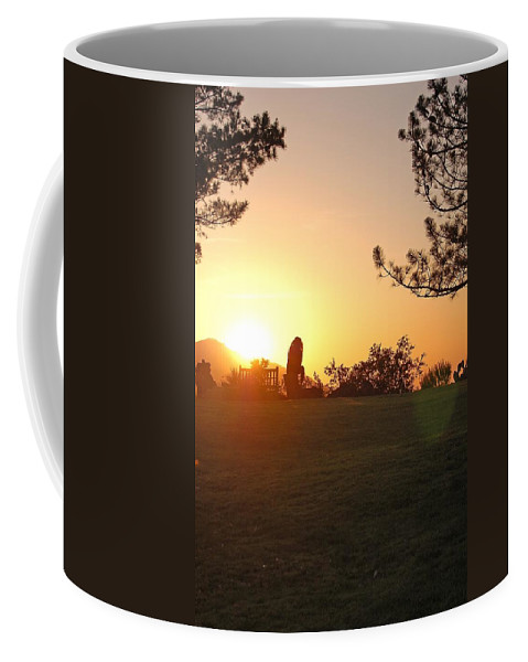 Linda Brody Coffee Mug featuring the photograph Reflection Time by Linda Brody