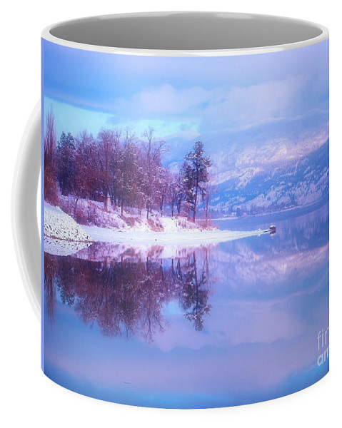 Reflections Coffee Mug featuring the photograph Reflections Along Highway 97 by Tara Turner