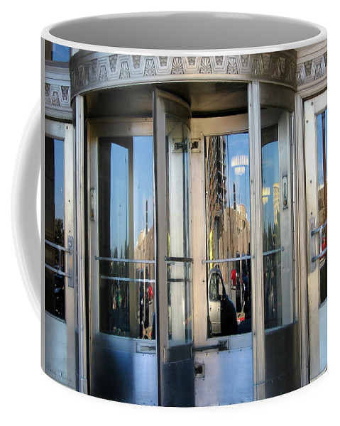 Ft Worth Texas Coffee Mug featuring the photograph Reflections by Amy Hosp