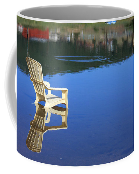 Water Coffee Mug featuring the photograph Reflections Fine Art Photography Print by James BO Insogna