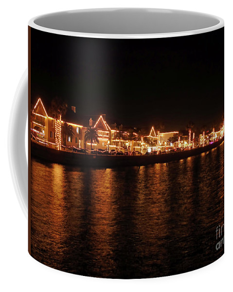 St Augustine Coffee Mug featuring the photograph Reflections In The Bay by D Hackett