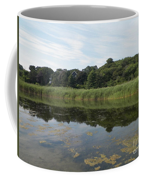 Rockport Coffee Mug featuring the photograph Reflections In The Marsh by Gina Sullivan
