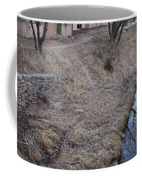 Water Coffee Mug featuring the photograph Reflections In The River by Rob Hans