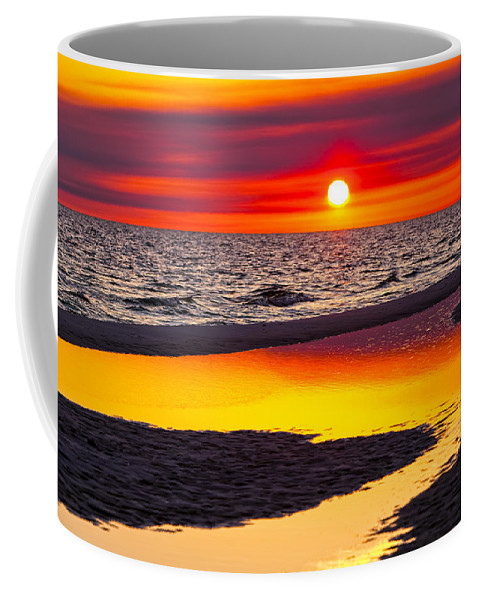 Reflection Coffee Mug featuring the photograph Reflections by Janet Fikar
