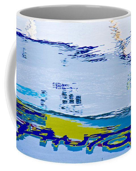 Water Coffee Mug featuring the photograph Reflections Of . . . by Ches Black