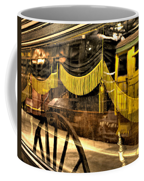 Train Coffee Mug featuring the photograph Reflections Of Death by Scott Wyatt