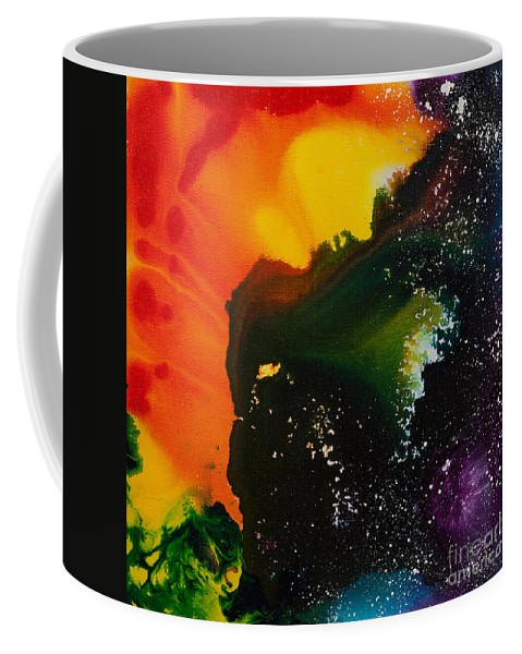 Ilisa Millermoon Coffee Mug featuring the painting Reflections Of The Universe No. 2318 by Ilisa Millermoon