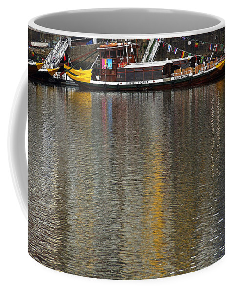 Reflection Coffee Mug featuring the photograph Reflections On Water by Vladi Alon