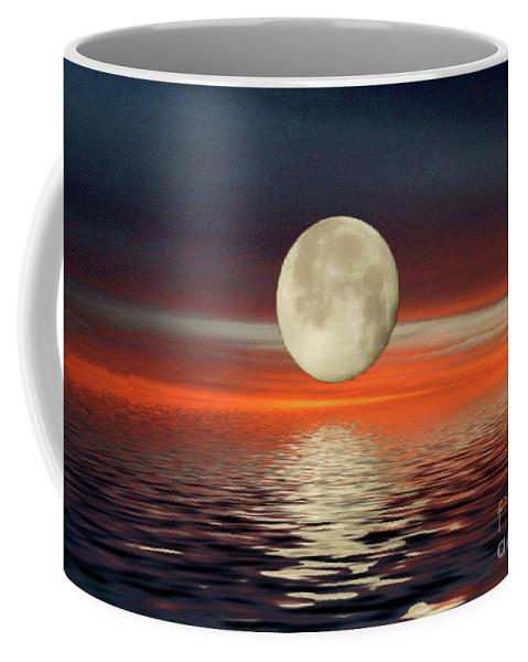 Reflections Coffee Mug featuring the photograph Reflections by Wanda-Lynn Searles
