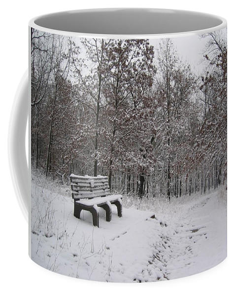 Landscape Coffee Mug featuring the photograph Refuge by Dylan Punke