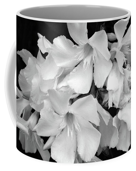 Black And White Coffee Mug featuring the photograph Regal Splendor by Marna Edwards Flavell