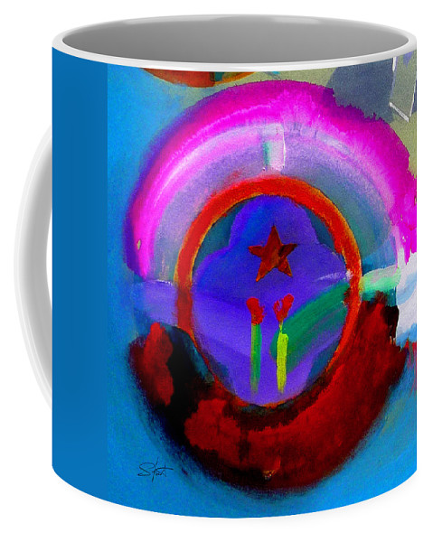 Love Coffee Mug featuring the painting Regeneration by Charles Stuart