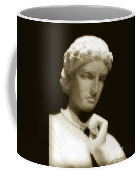 Woman Coffee Mug featuring the photograph Regret by RC DeWinter