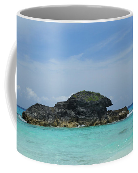 Turquoise Water Coffee Mug featuring the photograph Relax At Horseshoe Bay Bermuda by Luke Moore