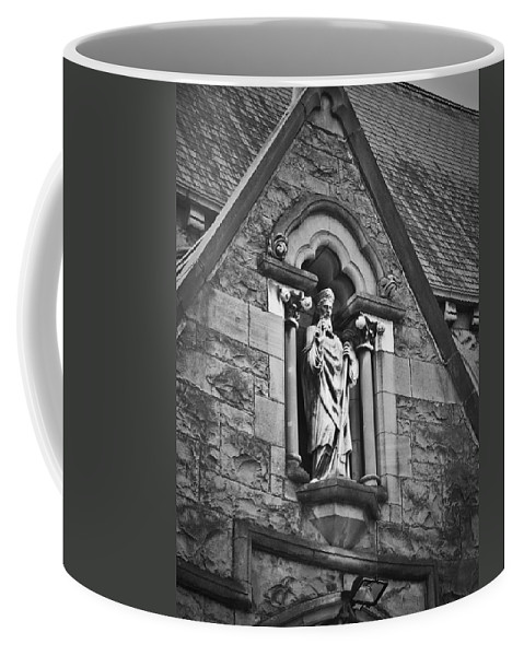 Irish Coffee Mug featuring the photograph Religious Icon Nenagh Ireland by Teresa Mucha