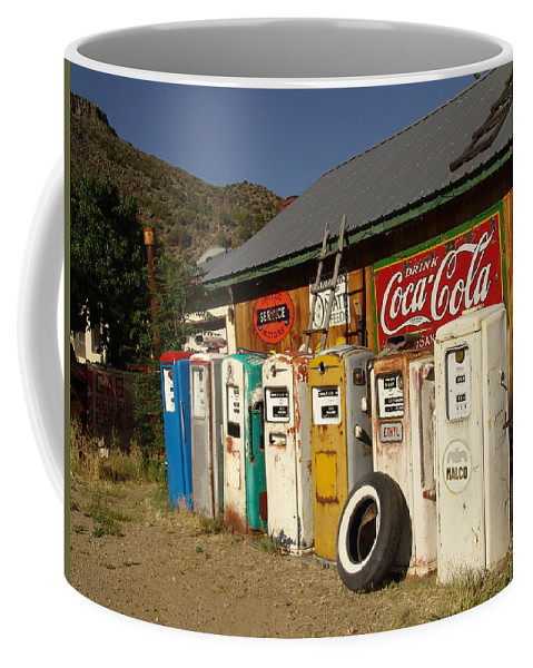 Auto Coffee Mug featuring the photograph Remember When by Carol Milisen