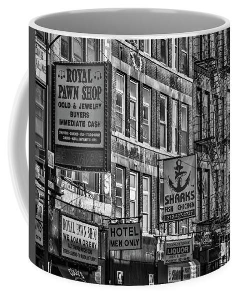 Chicago Coffee Mug featuring the photograph Remnants Of The Past by Izet Kapetanovic