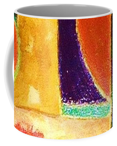 Original Art Coffee Mug featuring the painting Renaissance 2 by Rae Chichilnitsky