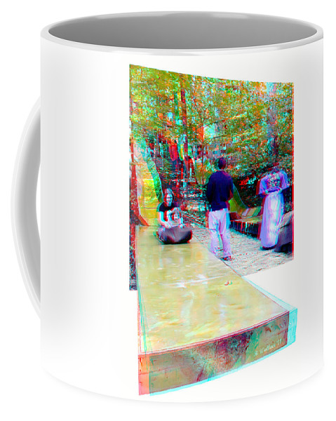 3d Coffee Mug featuring the photograph Renaissance Slide - Red-cyan 3d Glasses Required by Brian Wallace
