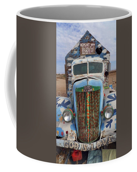 Repent Coffee Mug featuring the photograph Repent by Skip Hunt