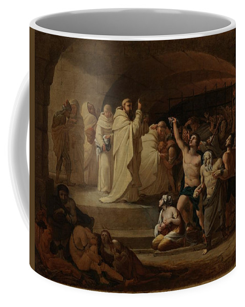 Man Coffee Mug featuring the painting Rescue Captives In Times Of Carlos IIi Inglada Aparicio And Jose by Inglada Aparicio And Jose