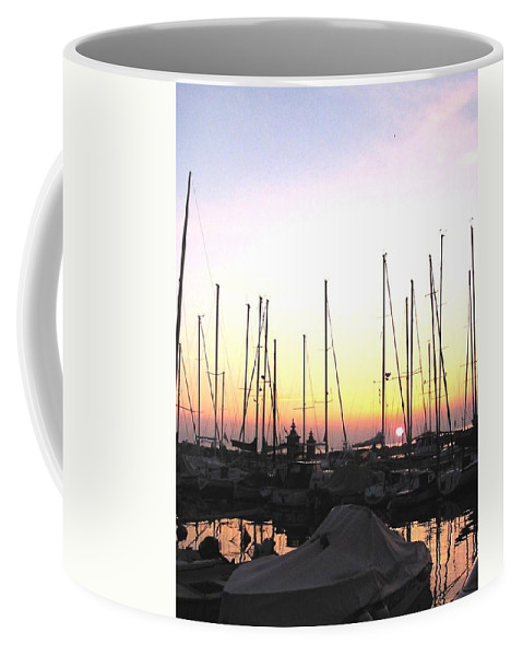 Sea Coffee Mug featuring the photograph Resting Place by Dragica Micki Fortuna