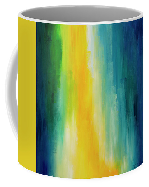 Revelation Coffee Mug featuring the painting Revelation by Chelsie Ring