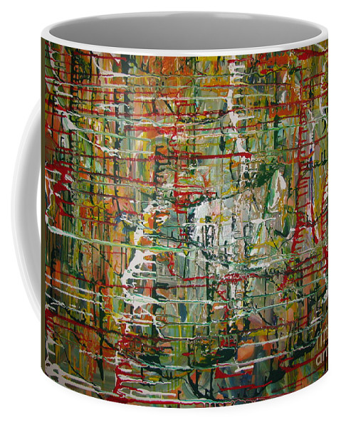 Freedom Coffee Mug featuring the painting Revelation by Jacqueline Athmann