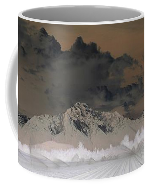 Landscape Coffee Mug featuring the photograph Reverse Landscape by Ron Bissett