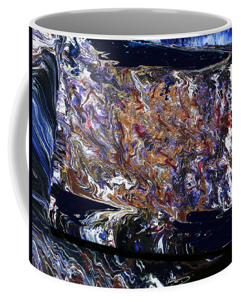 Fusionart Coffee Mug featuring the painting Revolution by Ralph White