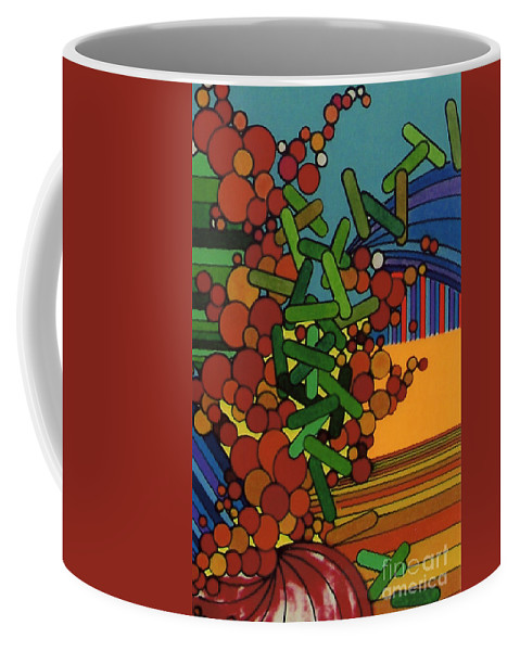 Over Growth Coffee Mug featuring the drawing Rfb0542 by Robert F Battles