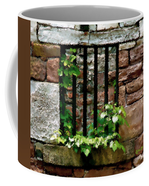 American History Coffee Mug featuring the digital art Rhus Radicans Triumphant by RC DeWinter