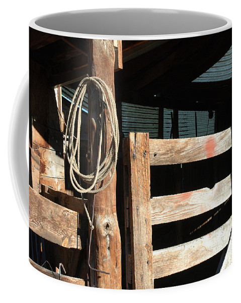Riata Coffee Mug featuring the photograph Riata by Jerry McElroy